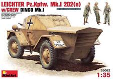 Miniart 35082 1:35th escala verano luz pz. Kpfw Mk I 202 (e) Afrika Korp con tripulación