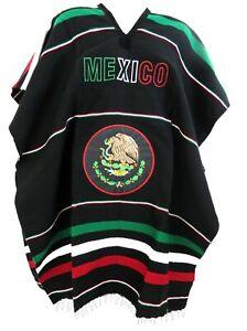 Mexico Poncho Black