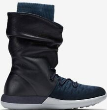 Nike Wmns Roshe Two Hi Flyknit Boots College Navy Ladies Uk 4.5  861708 400 Bnib