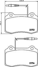 Mintex Front Brake Pad Set MDB1882  - BRAND NEW - GENUINE - 5 YEAR WARRANTY