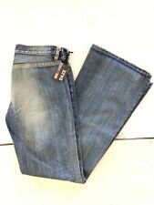 "NWT Vintage Women's 90's Diesel ""DAZE"" Blue FLARE Jeans Made in ITALY SIZE:27-31"