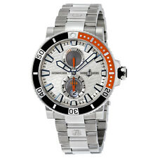 Ulysse Nardin Maxi Marine Diver Silver Dial Titanium Automatic Mens Watch