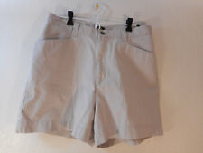 Lee Casuals shorts women beige 100% cotton casual sz 14 Large MINT!