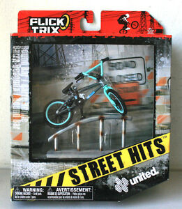 New Flick Trix 2010 Street Hits United Finger Bike with Round Bar #Q50