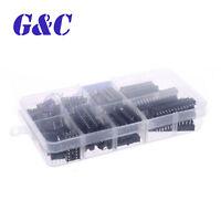 66pcs DIP IC Sockets Adaptor Solder Type Socket Kit 6/8/14/16/18/20/24/28 pins