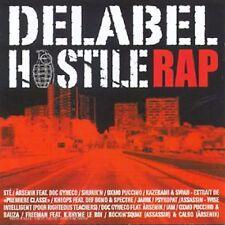 Delabel Hostile Rap COMPILATION -ENVOI DE FRANCE--RAP-NEUF Sous BLISTER -