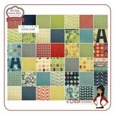 Polka Dot Craft Fabric Squares