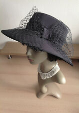 HEADWAYS Quality GREY Wedding Hat Hats Races Mother of the Bride