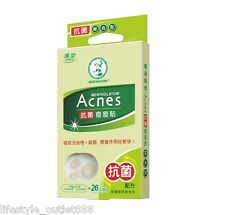 Mentholatum Acne Care Anti-bacterial Dressing Pimple Stickers 26 pcs