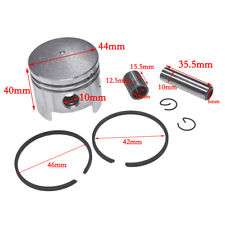 44mm Piston Kit For 2 stroke 43cc 47cc 49cc mini quad pocket bike