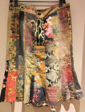 Roberto Cavalli  dyed multicoloured Jeans Fabric Skirt Size S Used