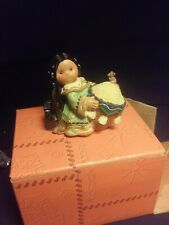 Friends of the Feather figurine Girl With Mice Mini