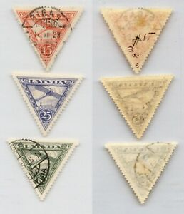 Latvia 1928 SC C6-C8 mint or used . rtb6127