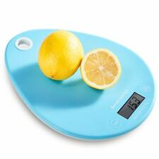 Bonsen Digital Kitchen Weighing Scale1g Accurate Food Scale Blue Age UK