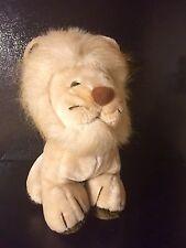 "Lion Plush Vintage Joy Times Stuffed Animal 12"" 1983"