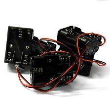 C1205-1x5 RC Battery Holder Case Box Pack 6 x AA JR 3 Pin x 5