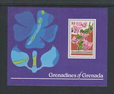 Grenada Grenadines - 1979, Flowers sheet - M/M - SG MS321