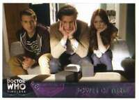 2016 Topps Doctor Who Timeless Trading Card #84 Power of Three