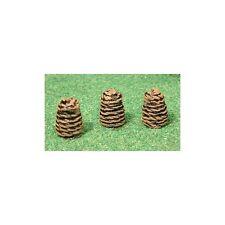 beehives - skeps (pintada) - Galga de OO Resina Modelo – Unit MODELS oo-020p-F1