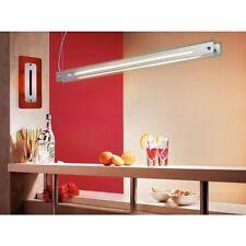 Evotec Colgante Lámpara HIGH-LINE 144cm BLANCO / tono gris acero 28w 830k
