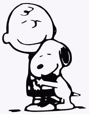 "Custom Snoopy and Charlie Brown- vinyl decal. 5"". multiple colors"