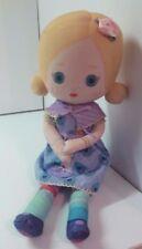 "Mooshka by Zapf Baby Doll Cloth stitched eyes stuffed doll toy boys girls 13"""