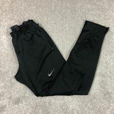 Nike Dri Fit Black Activewear Trousers Mens Medium Gym Running