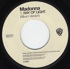 "MADONNA - RAY OF LIGHT - 7"" VINYL UK PRESS BRAND NEW UNPLAYED 1998"