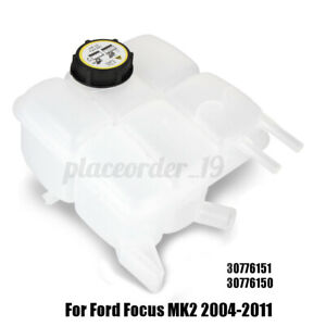 For Volvo S40 V50 C30 C70 II 30776151 Coolant Header Expansion Tank with Cap