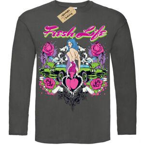 Fresh life T-Shirt cars women new start Mens Long Sleeve