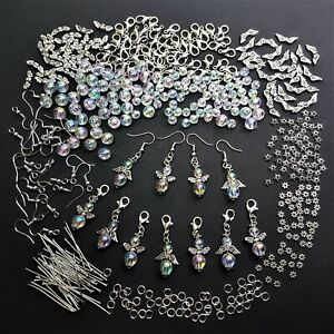 Bastelset 50 Schutzengel Glücksbringer Engel Basteln Regenbogen Perlen E5RGWS