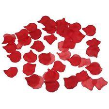 1000 Rosenblätter aus Seide Rot 5 x 4,5cm NEU
