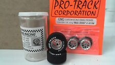 Silver Set of  Bull Dog Tires By Pro Track 1 3/16 x.300