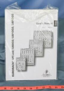 Behringer Mixer Eurorack UB502 UB802 UB1002 UB1202 Manual dq