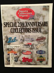 1997 Sports Collectors Digest 25th Anniversary magazine / Top 25 cards / SCD