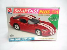 SnapFast Plus 1997 Dodge Viper GTS ~ ERTL ~ 1:25 Scale Model Kit ~Sealed NIB