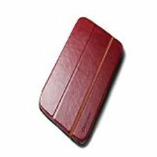 Verus Dandy Premium leather Case - To Suit Samsung Galaxy Note 8 - Deep Red