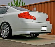 CL203 HIGH KICK TRUNK LIP SPOILER 01-05 FOR BENZ W203 COUPE C230 C320 HATCHBACK