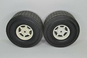 Pines Power Wheels Traffic Patrol Trike Rear Wheels Tires Replacement Parts