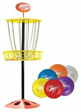 Wham-o Mini Frisbee Golf Set, Colors May Vary, Outdoor Game, Family Fun, New