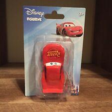 Disney Figurine, Cars Lightening McQueen, Beverly Hills Teddy Bear 2017 NEW