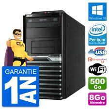 PC Tour Acer Veriton M4630G Intel G3220 RAM 8Go Disque Dur 500Go Windows 10 Wifi