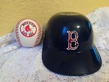 BOSTON RED SOX TEAM LOGO BASEBALL & BATTING HELMET MLB