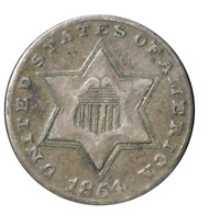 """1851-1873 Three Cent Silver - The Only """"Trime"""""""