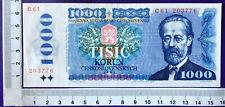 Tschechoslowakei 1000 Kronen Korun von 1985; Serie C 61; Erh II