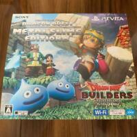 PlayStation PS Vita Dragon Quest Builders Metal Slime Edition 2016 Silver FS