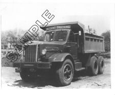 1949 STERLING Dump, PAZZANO TRUCKING CO, Waltham, Mass. 8x10 B&W Glossy Photo #3