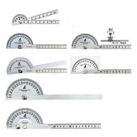 SHINWA Protractor Small - Big 1 - 2 Blade Stainless Steel Some Size