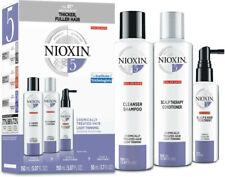 Nioxin-Sys 5 Chemically Treated Hair Kit 3pcs - Damaged Box