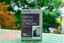 1Pack Monochrome Instax Fuji Instant Film For Mini 90 70 7s 8 25 SP-1 50s Lomo